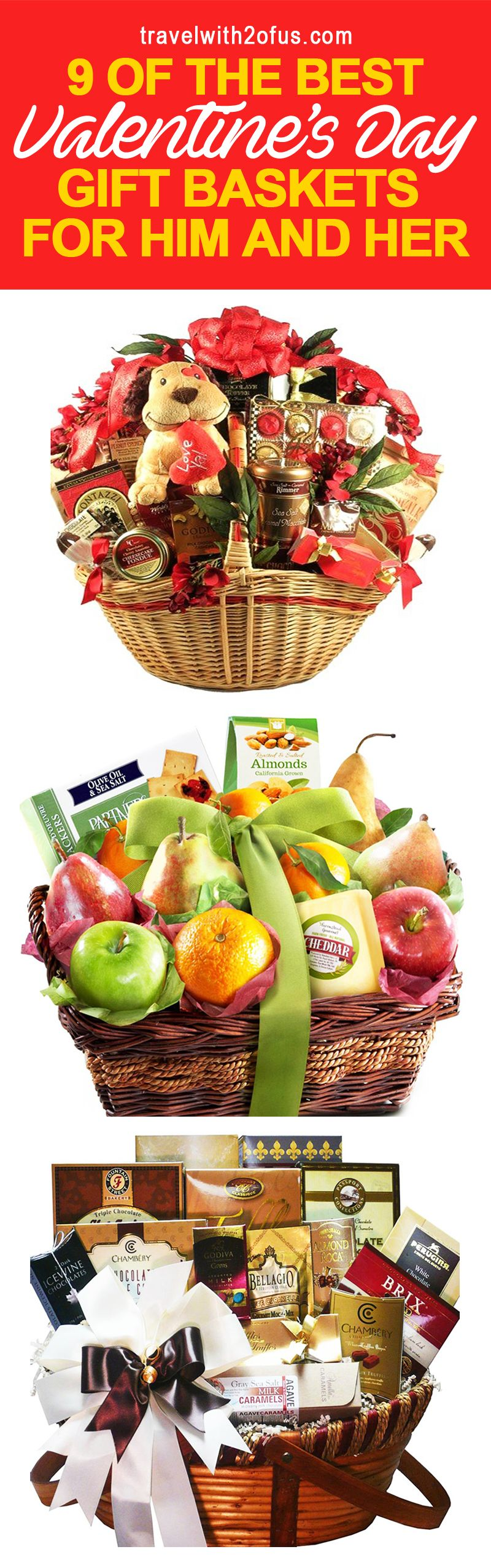 9 of the best valentines day gift baskets for him and her