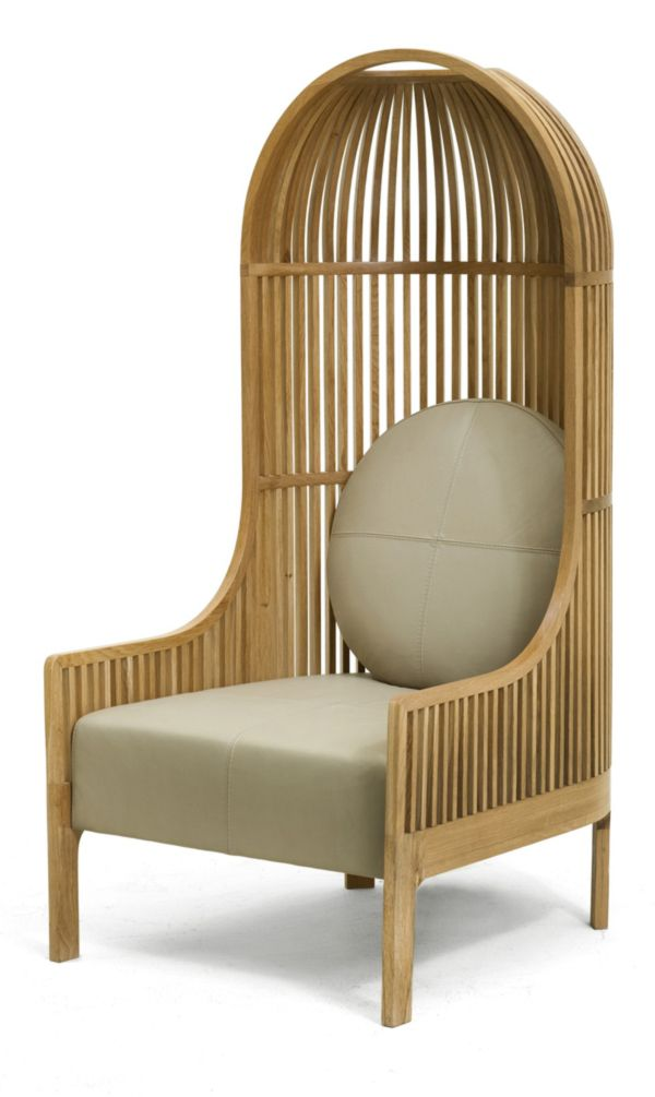 Exceptionnel Nest Lounge Chair By Autoban Oak .. Canu0027t Decide If This Would Be Comfy Or  Not. I Like It Tho :)