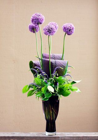 allium ~ Gingerleaf Floral Floral Design as Art Pinterest