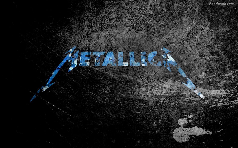 Widescreen Metal Band Metallica Logo Wallpaper HD Picture