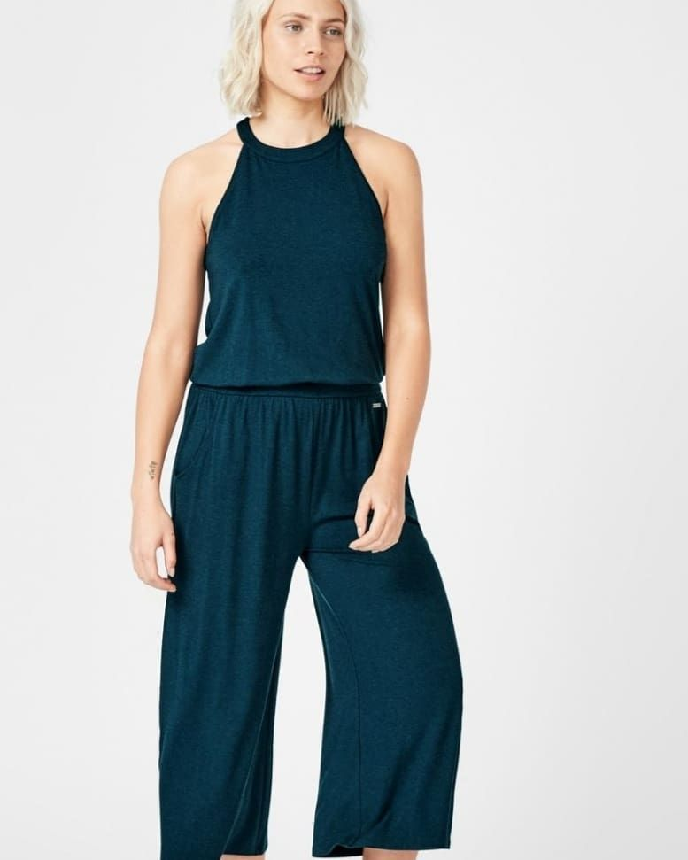 Sweaty Betty Serenity Culotte Jumpsuit Size S- visit my Ebay  #sweatybetty #sb jumpsuit #culottes fa...