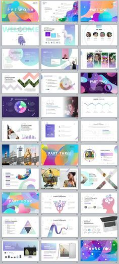 33+ Best Charts multicolor PowerPoint templates #powerpoint