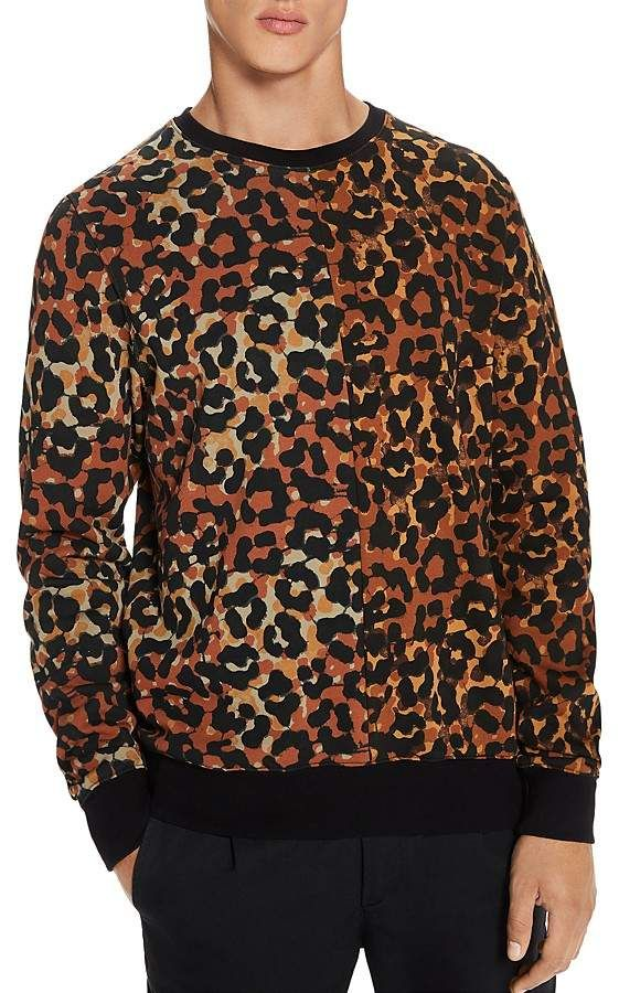 c099c9e14 Scotch & Soda Leopard-Print Sweatshirt   Products   Printed ...