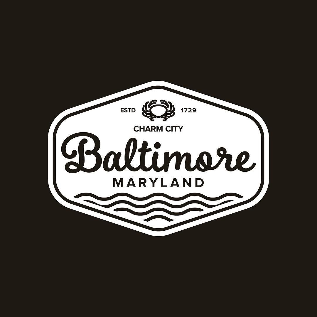 Baltimore Maryland Badge Design Continuing My
