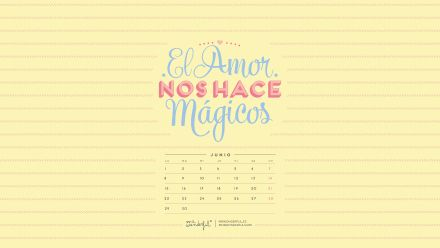 Mr wonderful descargable calendario junio ordenador Fondos movil mr wonderful