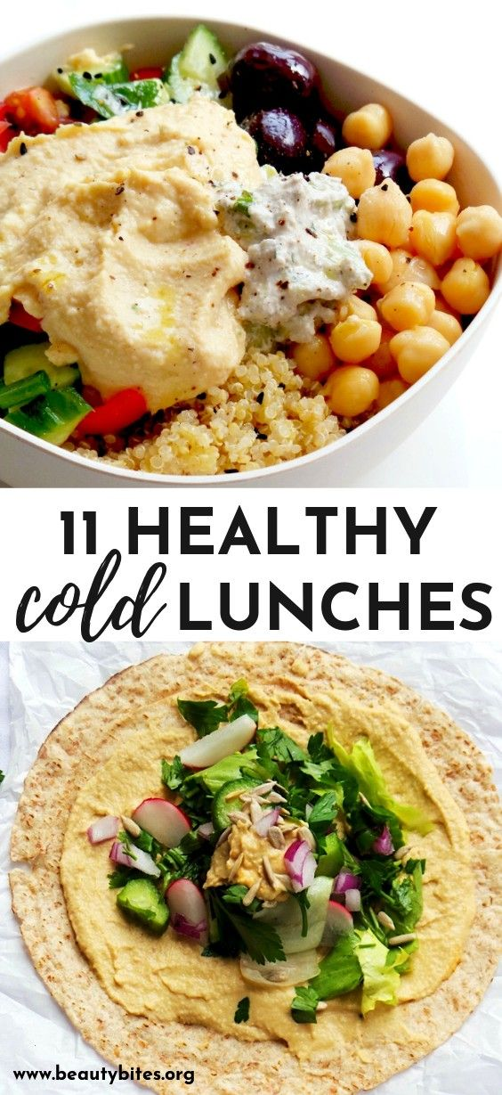 Quinoa Salad - 11 healthy cold vegan lunches! These clean eating lunch ideas are great for the off