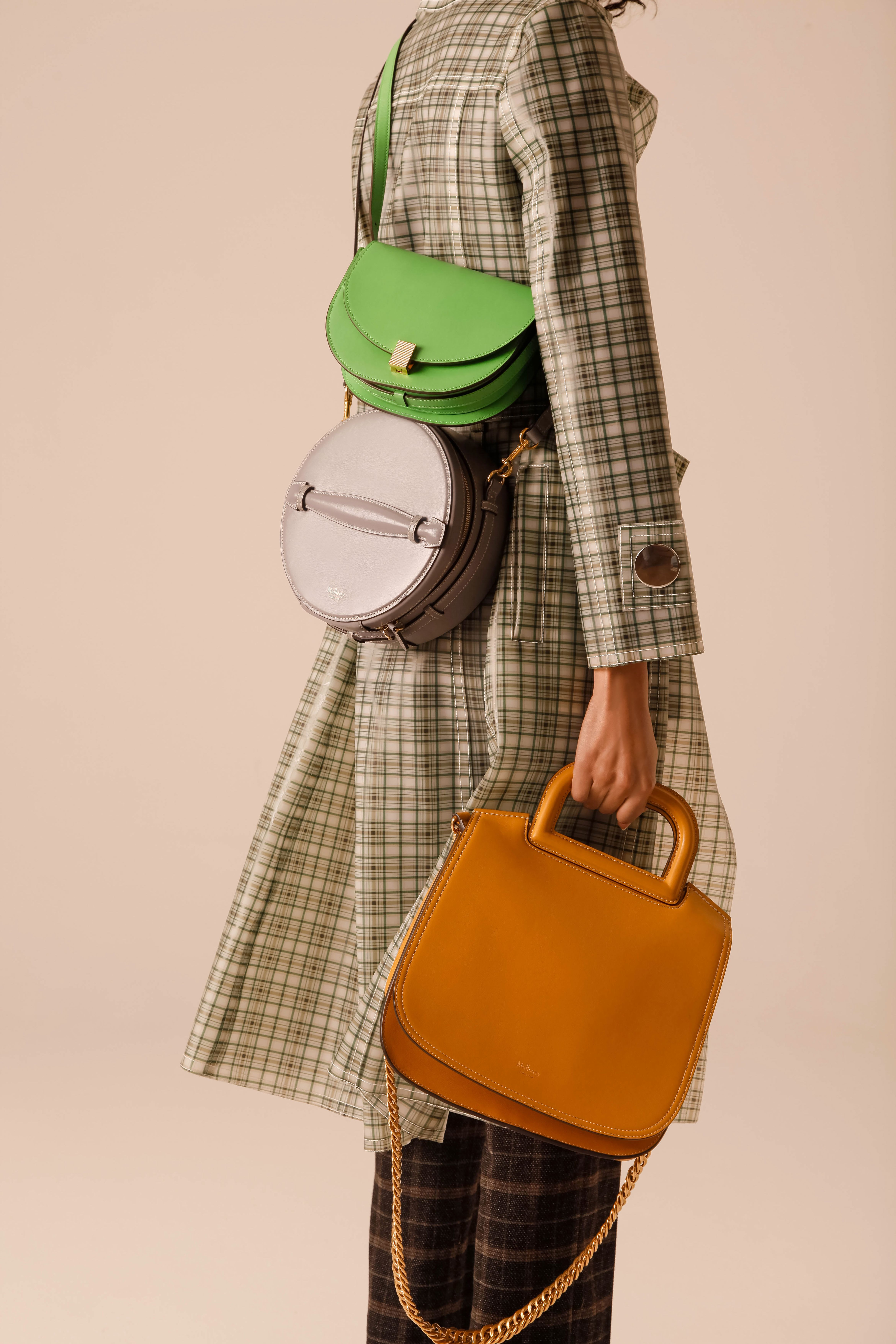c2d48af65b The Mini Half Moon Box from  PSS18 in new season Apple Green featured in  Stylist Magazine