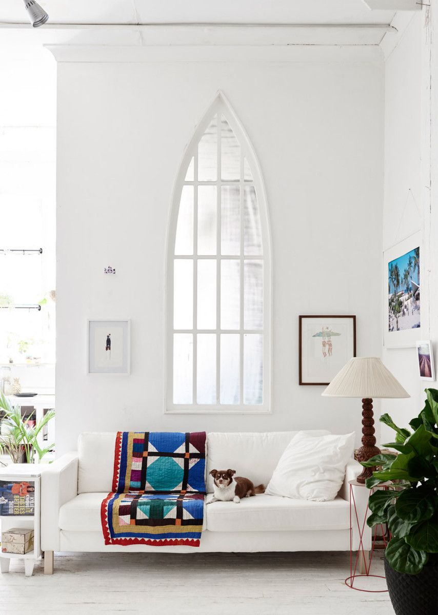 Interior windows architectural - High Ceilings And Architectural Windows