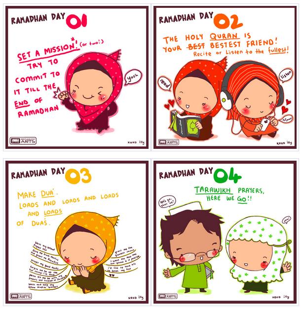 Accompagnez vos enfants pendant le mois de ramadan grâce aux cartes bien mignonnes du collectif Owh So Muslim.