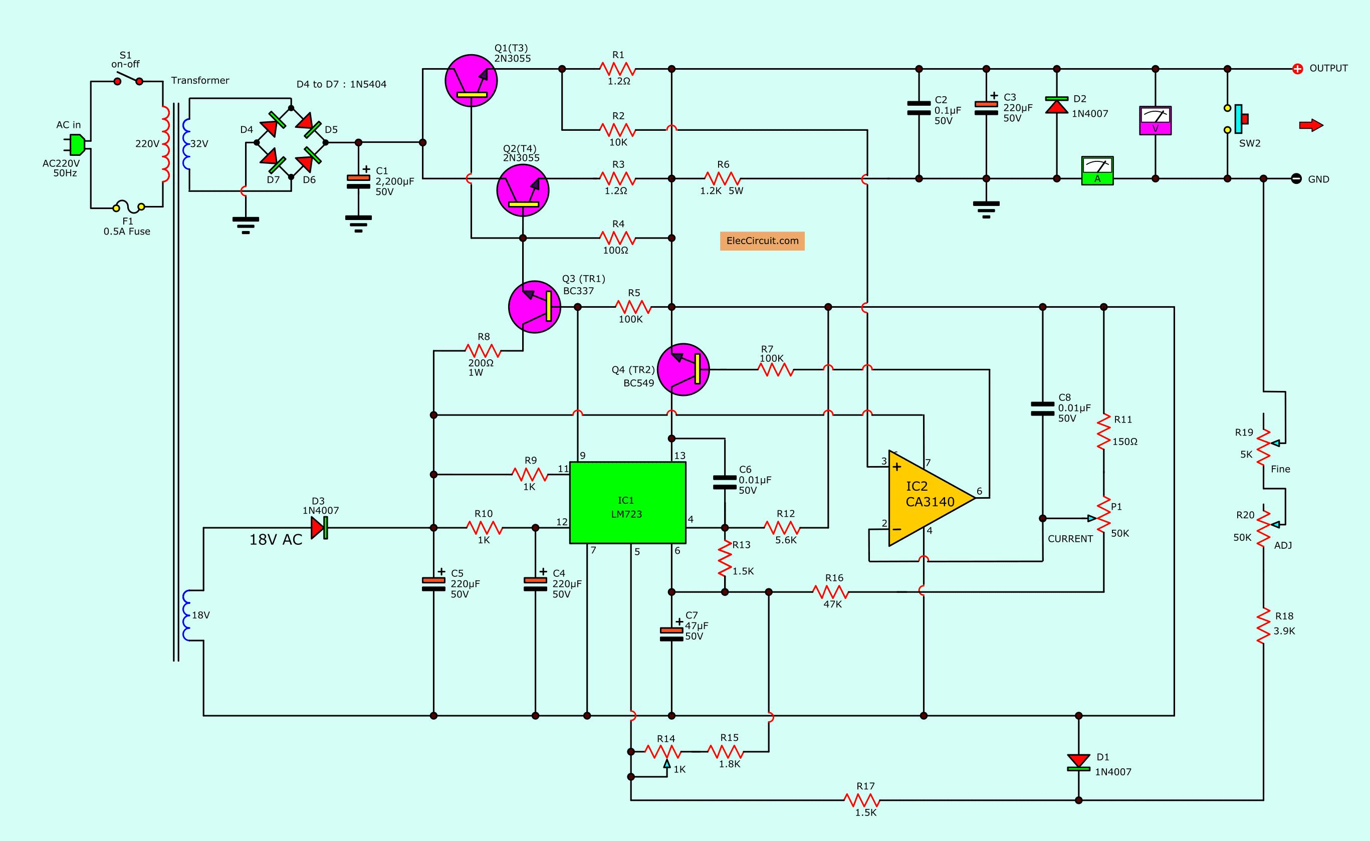 Pin On Power Supply Design