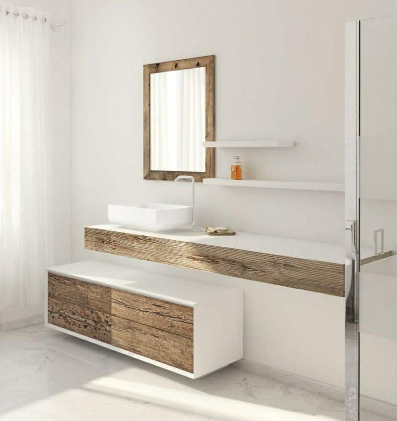 der shabby look in nat rlicher holzfarbe bad 2 badezimmer badezimmer m bel und. Black Bedroom Furniture Sets. Home Design Ideas