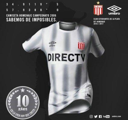 new product 97ee1 dfb50 Estudiantes de La Plata 2006 Championship 10th Anniversary ...