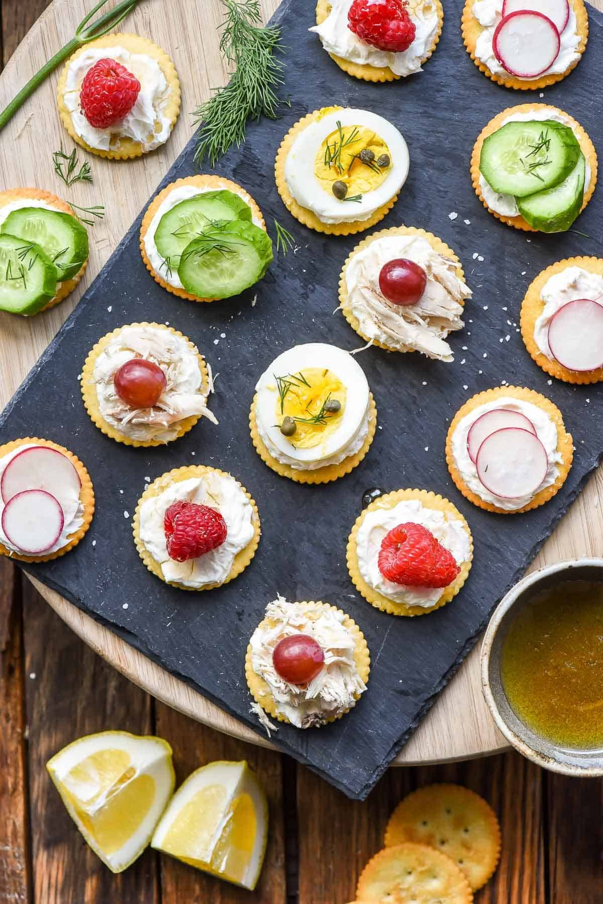 5 Ritz Cracker Appetizers You Can Make in 5 Minutes   FoodBlogs