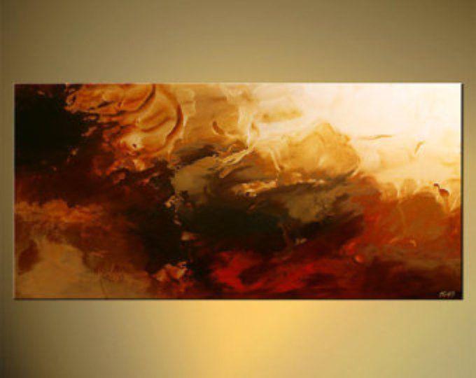 Gran Pintura Abstracta Contempor Nea Original Moderna