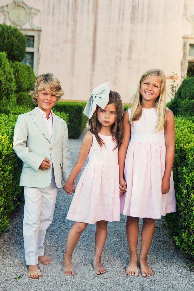Oscar de la Renta children's wear, could anything be more perfect for Park Avenue Princesses?