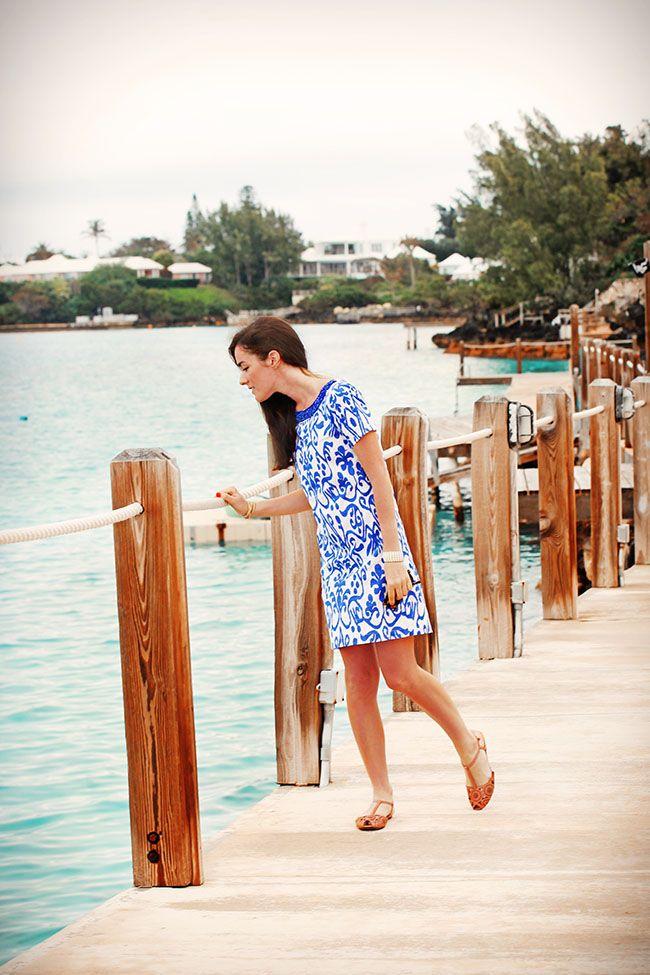 Sheridan French Ikat Dress