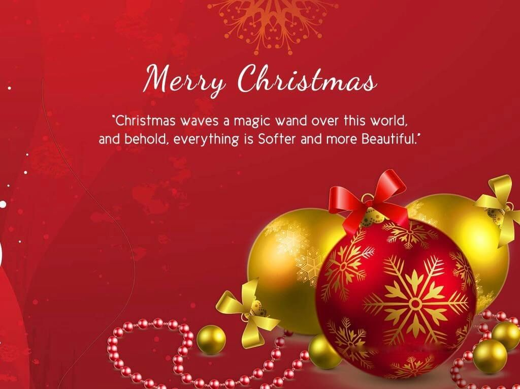Merry Christmas Quotes For Friends, Christmas 2018 Quotes