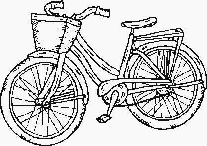 cyclist and bike..pictures for painting!!! | coloring pages ...