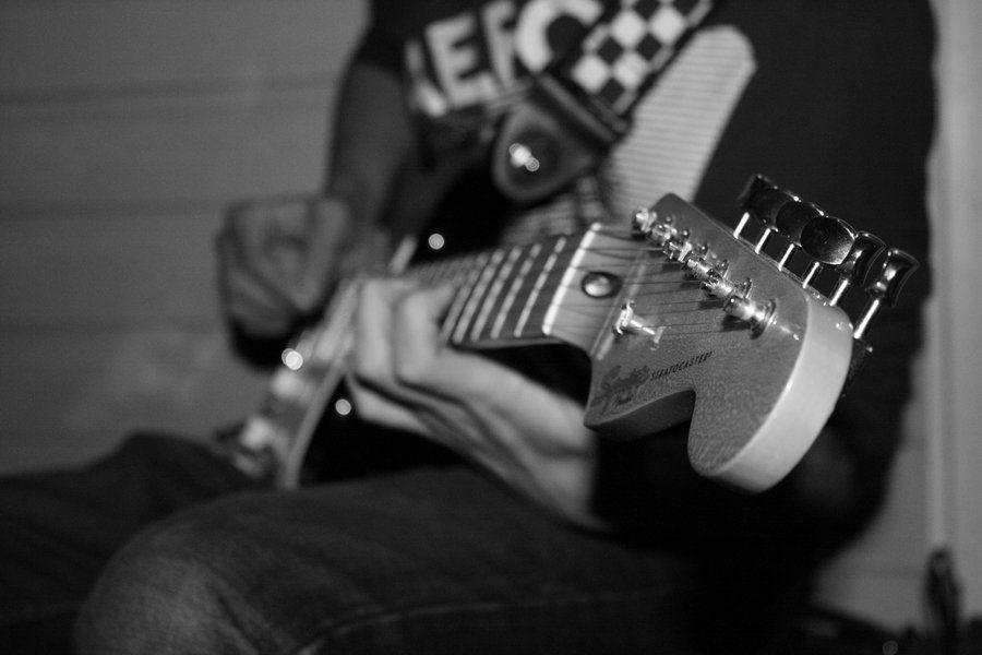 guitar, music photography
