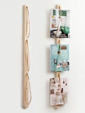 zeitschriftenhalter baam applicata magazinhalter wand holz probleml ser wg. Black Bedroom Furniture Sets. Home Design Ideas
