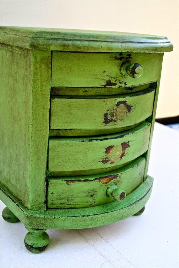 Antibes Green and a dark wax