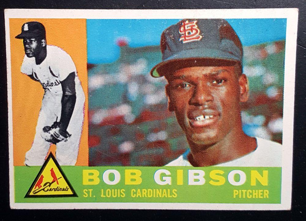 1960 Topps Bob Gibson 73 St Louis Cardinals