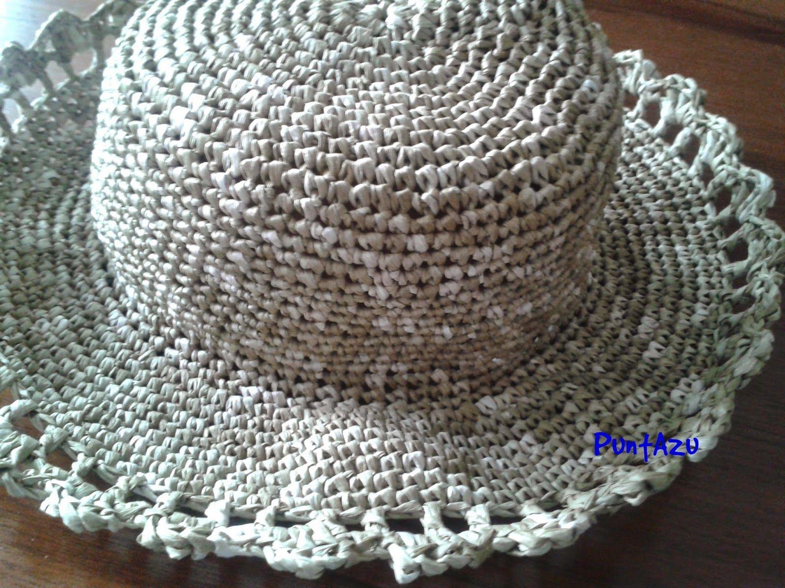 Sombrero crochet. patrón gratis  e233ac213d4