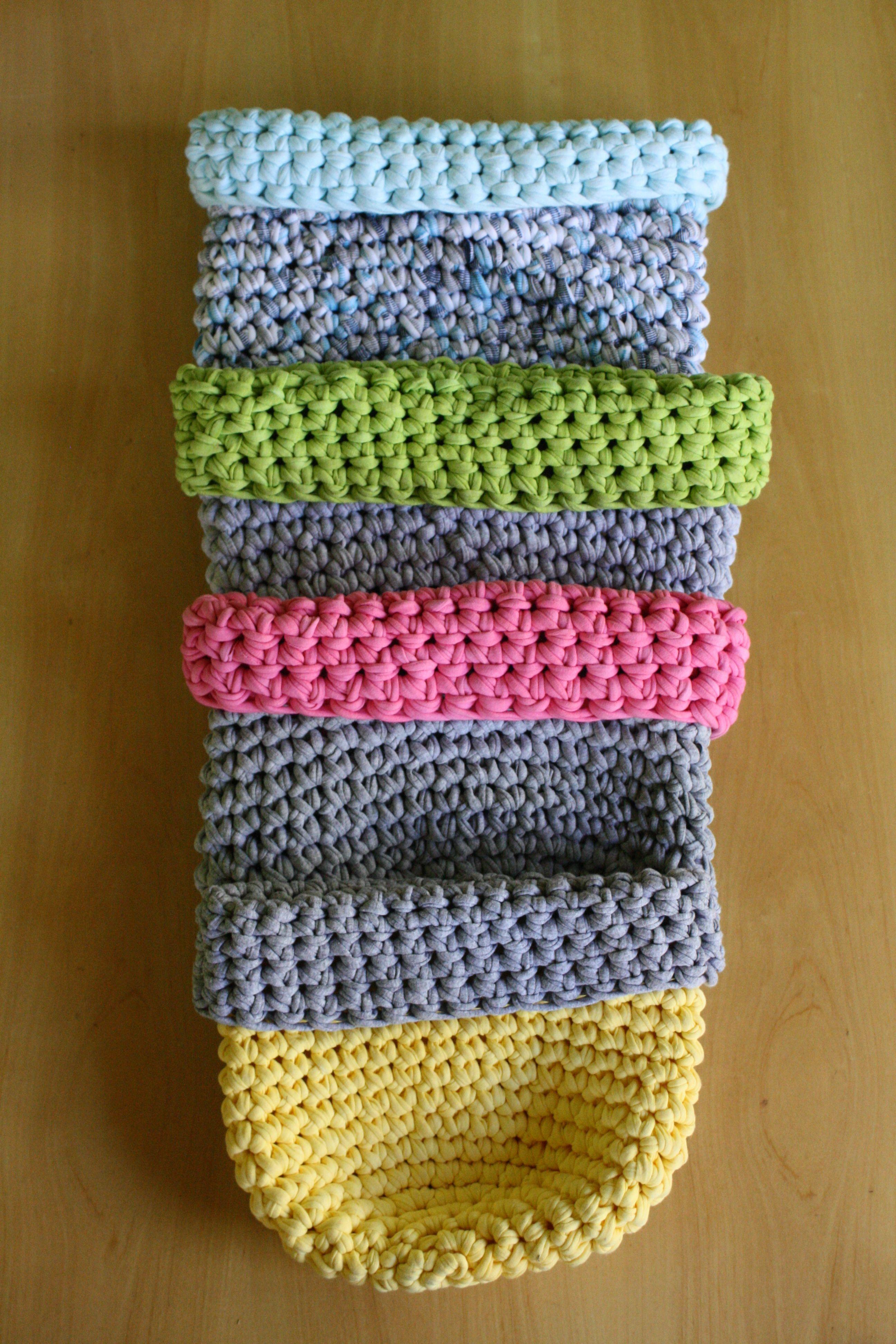 canastas tejidas a crochet www.gatocontento.tiendanube.com