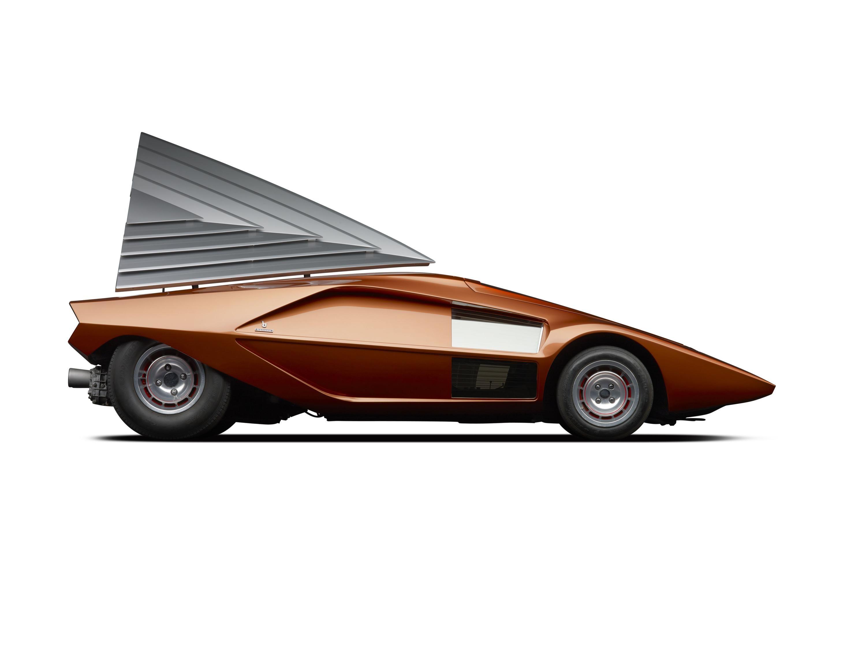Bertone Lancia Stratos Zero Concept Cars Vintage Concept Cars Concept Car Design