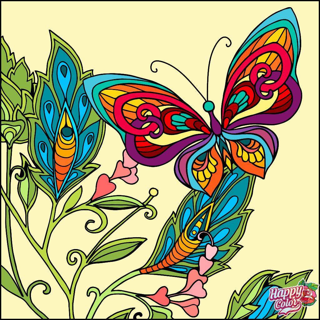3/20/19: Happy Color app | Раскраски, Рисунки, Картины