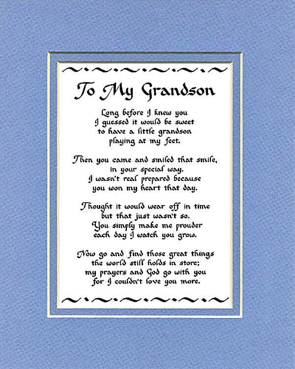 Birthday Verses For Grandson Cards Card Design Template