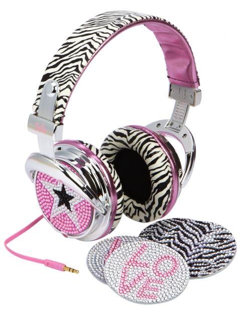 Cool Headphones Girl With Headphones Shop Justice Headphones