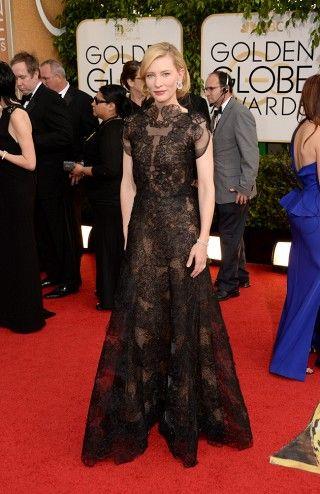 Cate Blanchett via @WhoWhatWear