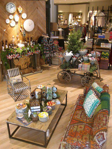 ANTHROPOLOGIE Launches New Design Concept   Interior shop, Store ...