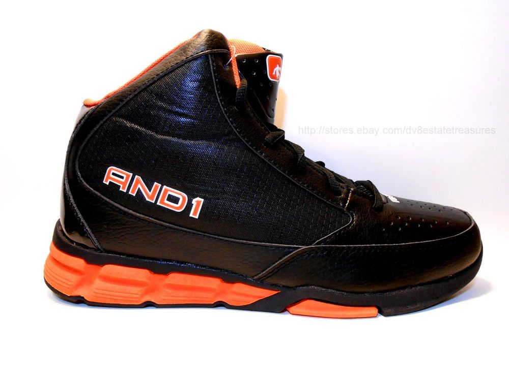NIKE SB Black Orange Gray Suede Leather Basketball Athletic Shoes - Men's 10