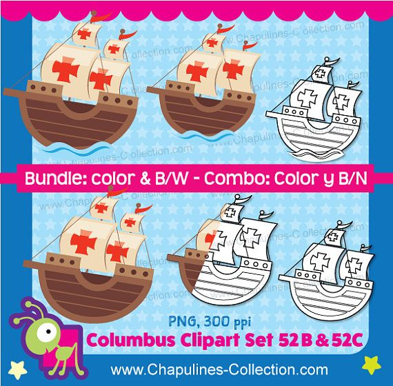 10+ Columbus Day Clip Art Clipart