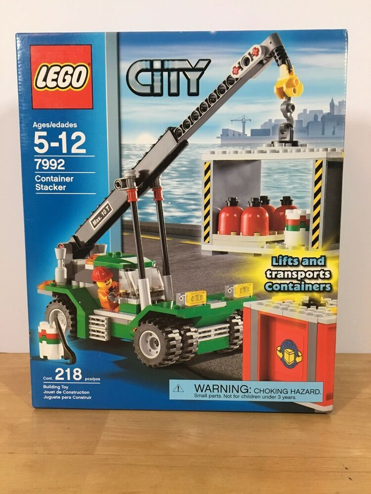 Lego 7992 City Container Stacker Crane Vehicle ** Sealed Box