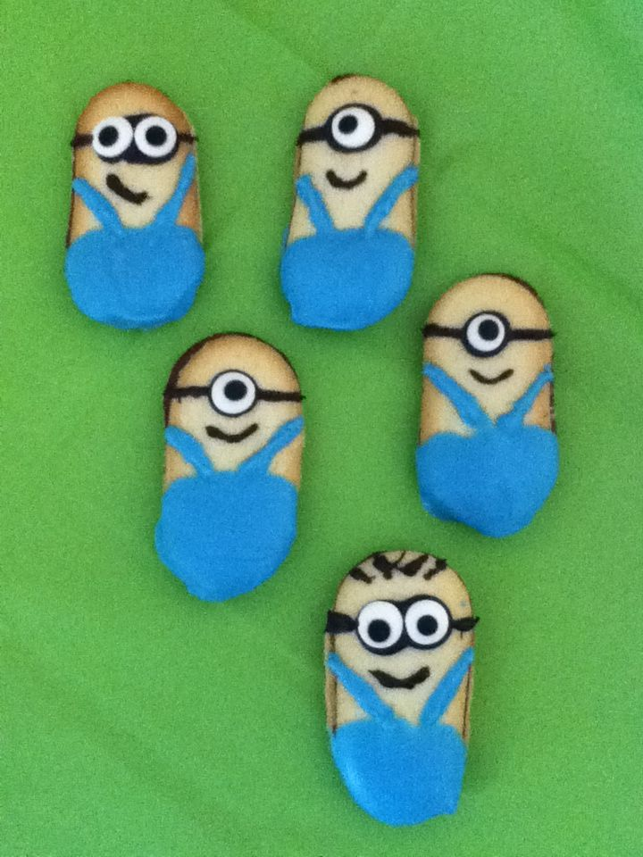 My Milano Minion Cookies Blue Is A Little On The Bright