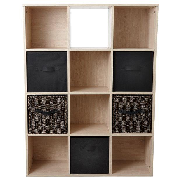 12 Cube Storage System Natural Target Australia Cube Storage Rustic Storage Cabinets Wood Storage Cabinets