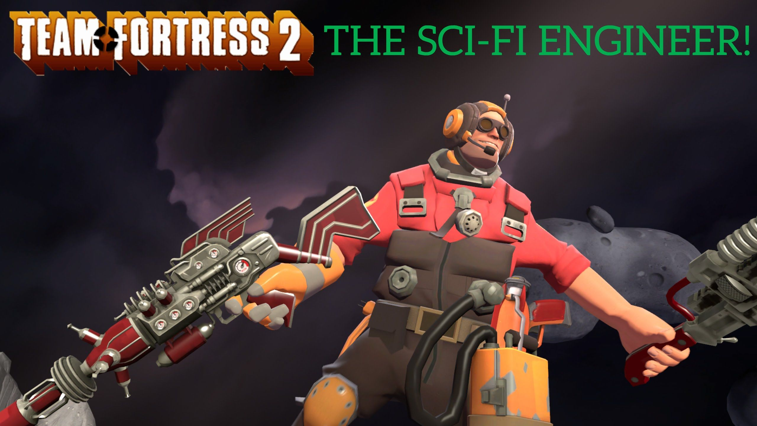 TF2: Weapon challenges]-[The Sci-fi engineer! | [!Video and Image
