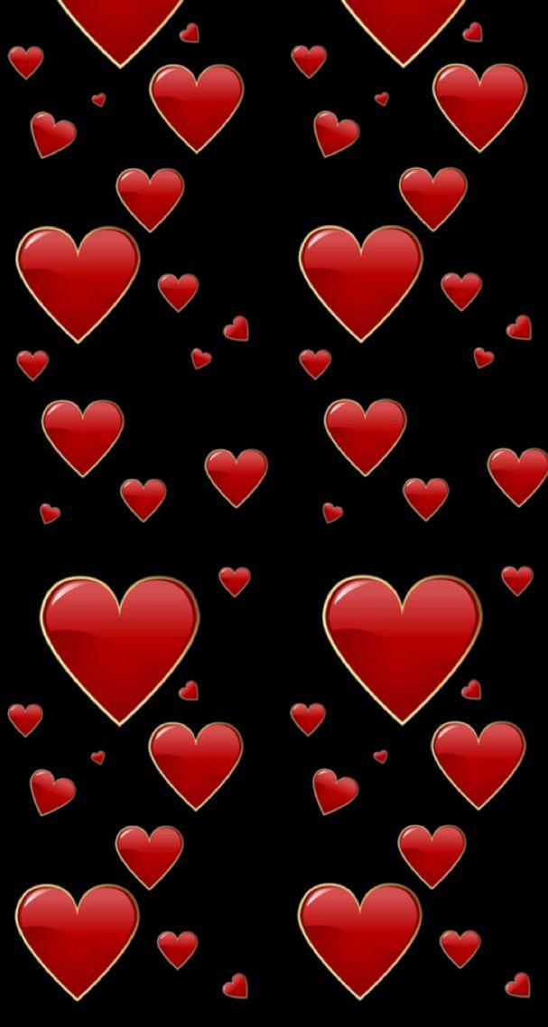 Fondos de pantalla de corazones rojos