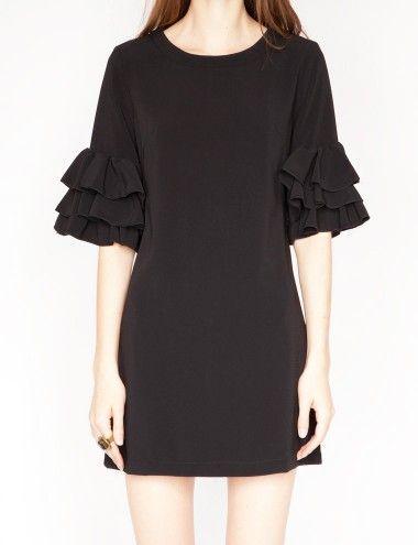 Clara ruffle dress