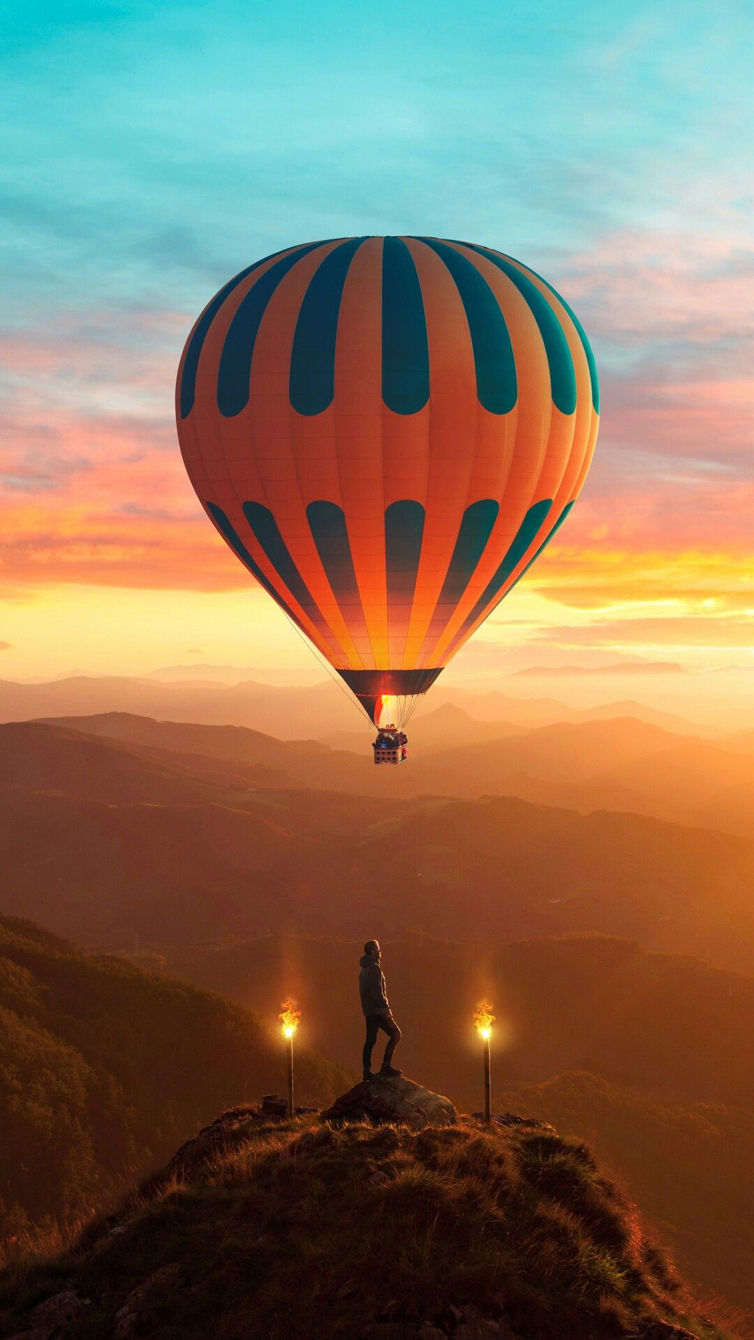 A Good Wallpaper Drugs For Wallpapers Lovers Montgolfières Cerf