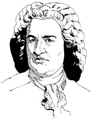 Draw Johann Sebastian Bach Learn To Draw Art Lesson For Kids