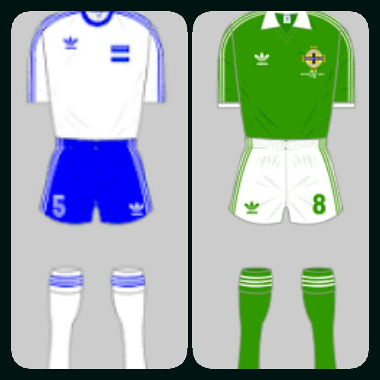 Honduras 1 N. Ireland 1 in 1982 in Zaragoza. Not a good result for either team in Group 5 at the World Cup Finals.