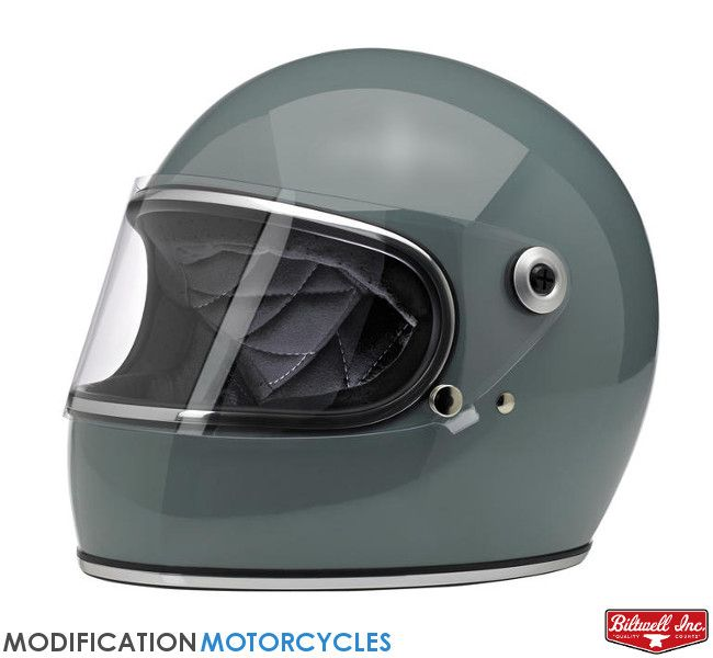 Casque Intégral Gringo S Gloss Agave Vintage Stuff Motorcycle