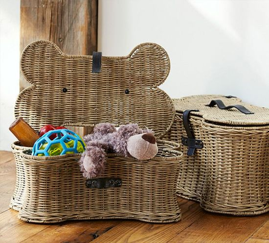 Doggie Toy Basket From Pottery Barn Dog Toy Storage Toy Basket