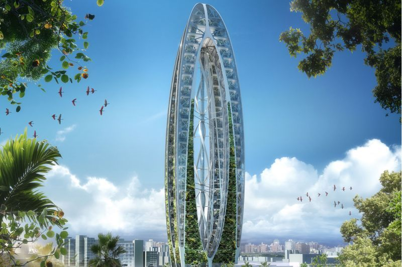 Extrêmement Vincent Callebaut - Arche bionique | Architecture & Retail Design  SX97
