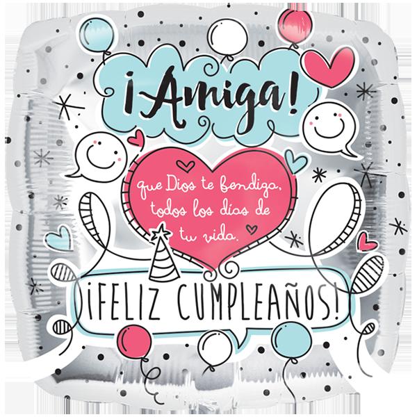 Feliz cumpleaños para una Amiga! Imágenes, frases, gif y más |  Tucumpleañosfel… | Imagen feliz cumpleaños, Postales de feliz cumpleaños,  Mensaje de feliz cumpleaños