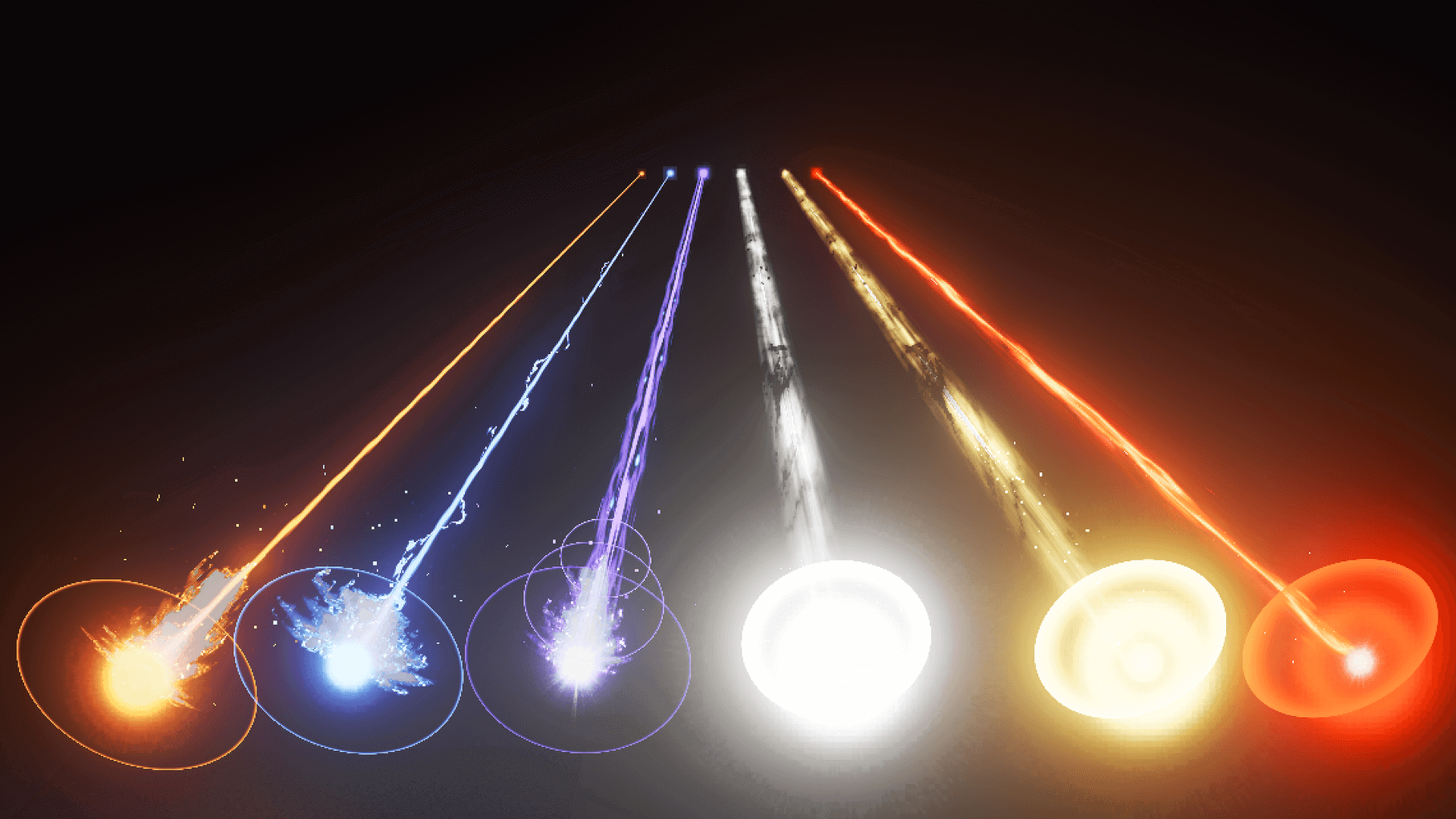 Beam And Laser FX 01 by Kakky in FX - UE4 Marketplace | anatomy in
